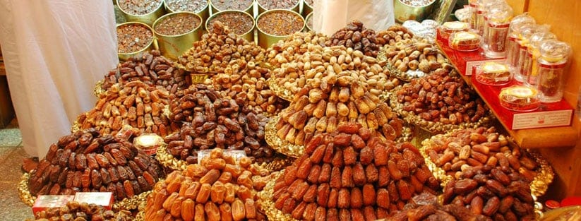 Middle East Dates Fruit Market