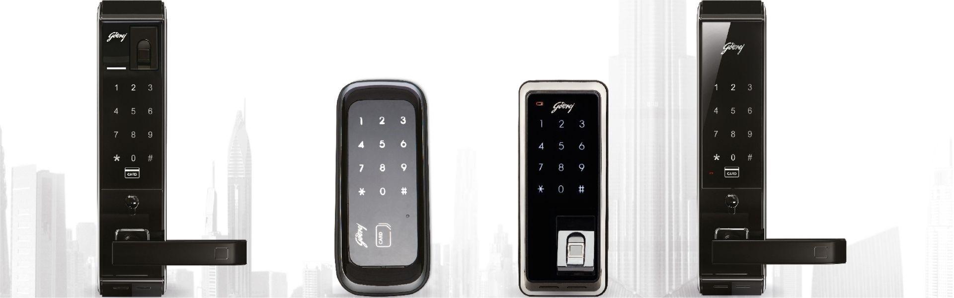 digital door lock market
